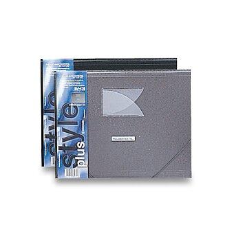 Obrázek produktu 3chlopňové desky s gumou FolderMate Style Plus - A4, výběr barev