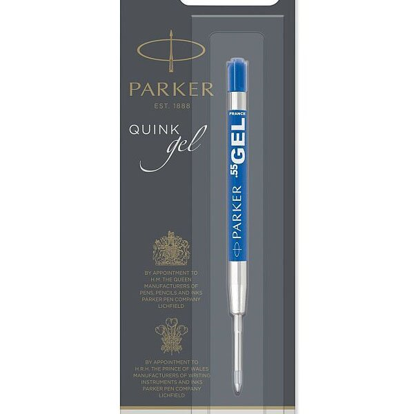 Gelová náplň Parker do kuličkové tužky modrá, F
