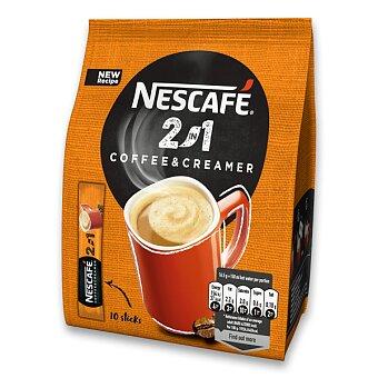 Obrázek produktu Instantní porcovaná káva Nescafé 2 v 1 - 10 ks
