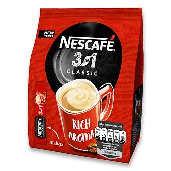 Obrázek produktu Instantní porcovaná káva Nescafé 3 v 1 - 10 ks