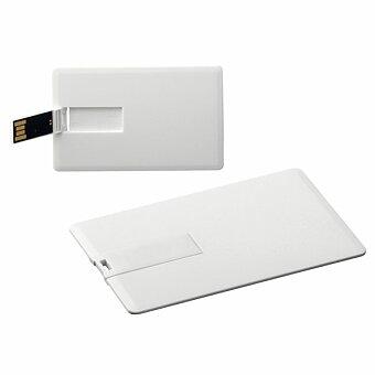 Obrázek produktu USB FLASH 42 - plastový USB FLASH disk 8GB, rozhraní 2.0., bílá