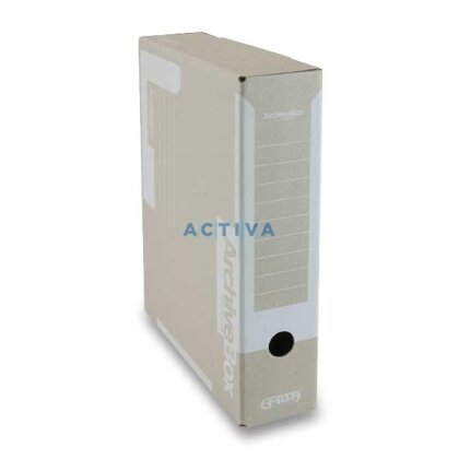 Obrázek produktu EMBA Archiv box Colour  - archivační box - 75 mm, bílý
