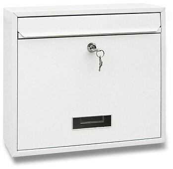 Obrázek produktu Poštovní schránka - 360 x 310 x 90 mm, bílá