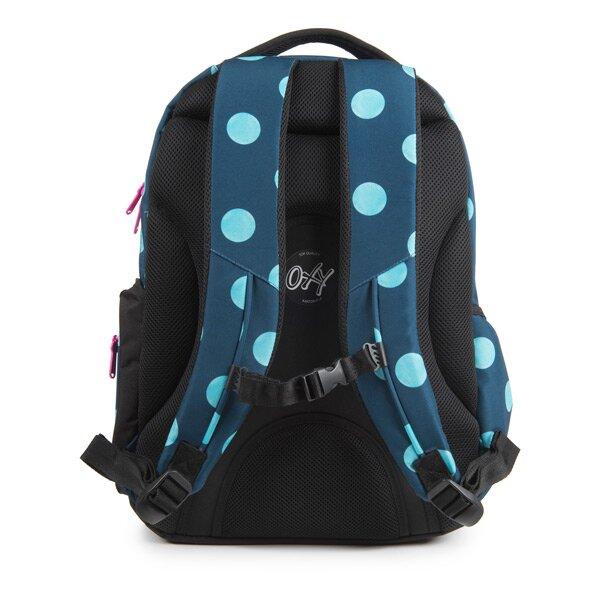 33322d64654 Studentský batoh OXY Style - Dots