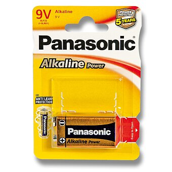 Obrázek produktu Baterie Panasonic Alkaline Power - 9V, blistr