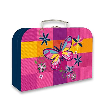 Obrázek produktu Kufřík Karton P+P Motýl