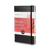 Zápisník Moleskine Passion Recipe Journal - tvrdé desky