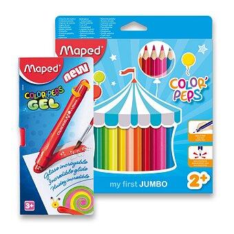 Obrázek produktu Pastelky Maped Color'Peps Jumbo - 24 barev, trojhranné