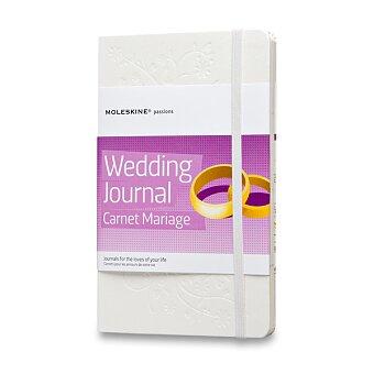 Obrázek produktu Zápisník Moleskine Passion Wedding Journal - tvrdé desky - L, bílý