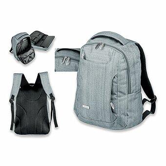 Obrázek produktu SANTINI KARDON - polyesterový batoh na notebook, 600D, šedá