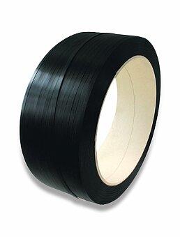 Obrázek produktu Vázací páska PP - 12 x 0,5 mm, návin 3000 m, černá