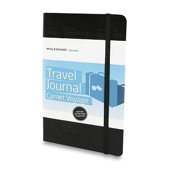 Obrázek produktu Zápisník Moleskine Passions Travel Journal - tvrdé desky - L, černý