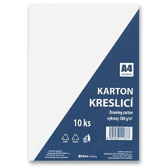 Obrázek produktu Kreslicí karton A4 - 180 g/m2, 10 archů
