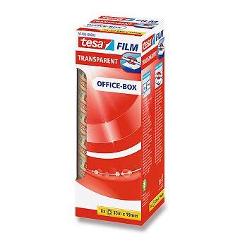 Obrázek produktu Samolepicí páska Tesa - šíře 19 mm, návin 33 m, 8 ks