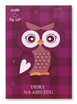 Obrázek produktu Desky na abecedu The Owl Olivia