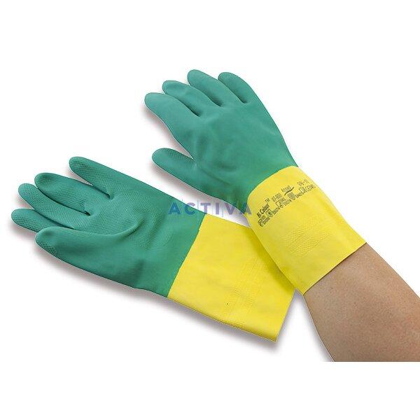 Bi-colour - pracovní rukavice - latex 86a2d09e66