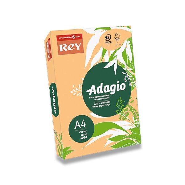 Barevný papír Rey Adagio lososový