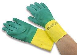 Pracovní rukavice latex/neopren