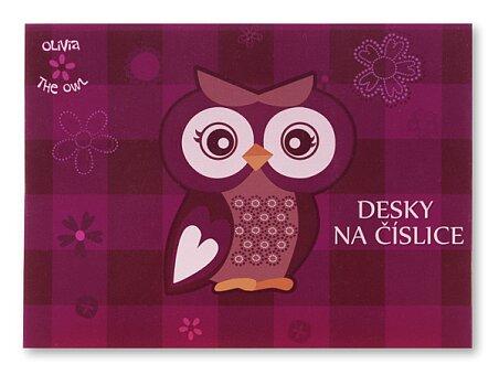Obrázek produktu Desky na číslice The Owl Olivia
