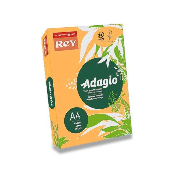 Barevný papír Rey Adagio oranžový