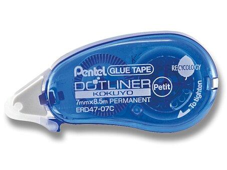 Obrázek produktu Lepicí roller Pentel - 7 mm x 8,5 m, jednorázový, mix barev