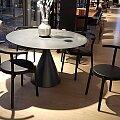 Conde House židle Kotan jasan, černá kůže Baltique Black