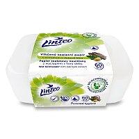Vlhčený toaletní papír Linteo v boxu