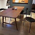 Carl Hansen židle CH88 dub, černá kůže Sif 98