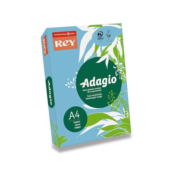 Barevný papír Rey Adagio tmavě modrý