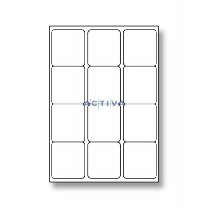 Obrázek produktu Rayfilm - samolepicí etikety - 66×70 mm, 1200 etiket