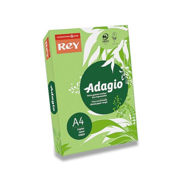 Barevný papír Rey Adagio tmavě zelený