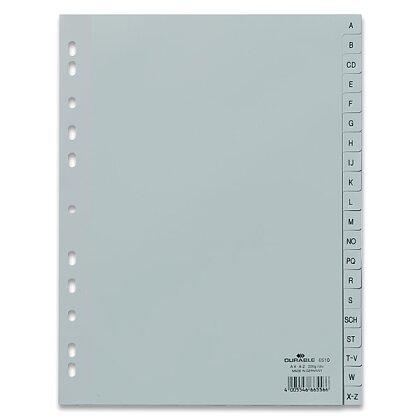 Obrázek produktu Durable - polypropylenový rozlišovač - A-Z