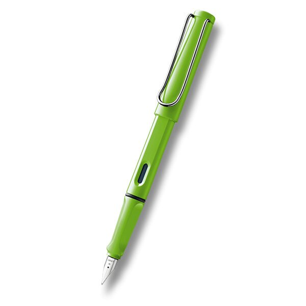 Lamy Safari Shiny Green hrot F