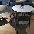 Desalto židle Ply antracitová