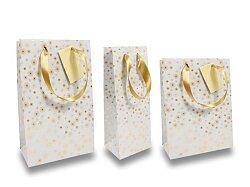 Dárková taška Premium Christmas White