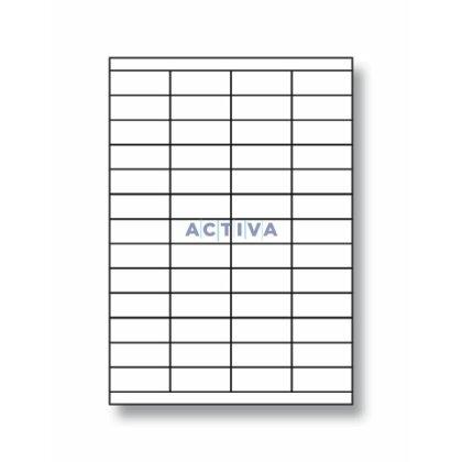 Obrázek produktu Rayfilm - samolepicí etikety - 52,5×21,2 mm, 5200 etiket