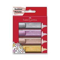 Zvýrazňovač Faber-Castell Textliner 46 Metallic