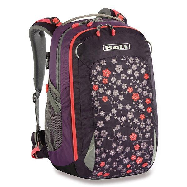 Školní batoh Boll Smart Artwork Collection 22 l puple flowers
