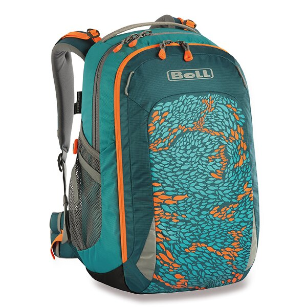 Školní batoh Boll Smart Artwork Collection 22 l teal fish