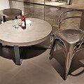 Tolix židle A56 surová lakovaná ocel Brillian