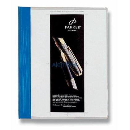 Obrázek produktu Esselte - rychlovazač PVC s kapsou - modrý
