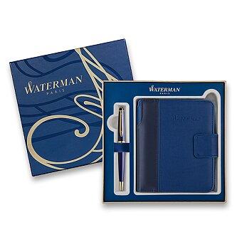 Obrázek produktu Waterman Expert Blue GT - kuličková tužka, dárková kazeta se zápisníkem