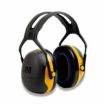 Obrázek produktu Mušlové chrániče sluchu 3M Peltor X2A - žluté, 31 dB