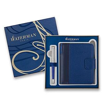 Obrázek produktu Waterman Hémisphère DeLuxe Blue Wave - kuličková tužka, dárková kazeta se zápisníkem