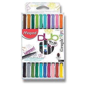 Obrázek produktu Oboustranný liner Maped Graph'Peps Duo - sada 20 barev