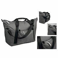 LOAN - polyesterová cestovní taška, 600D, antracit