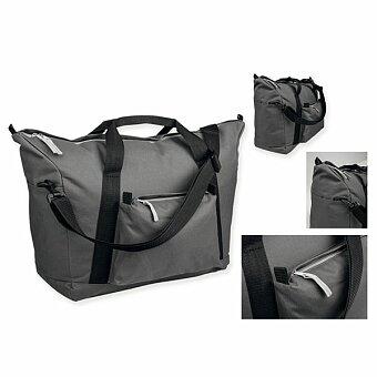 Obrázek produktu LOAN - polyesterová cestovní taška, 600D, antracit