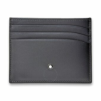 Obrázek produktu Pouzdro na kreditky Montblanc Meisterstück Sfumato - 6 cc, černé