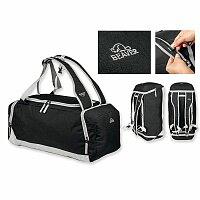 BEAVER TYLER - polyesterová cestovní taška, 600D, černá