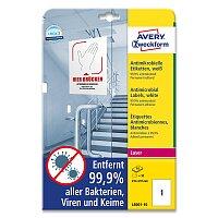 Antimikrobiální etikety Avery Zweckform
